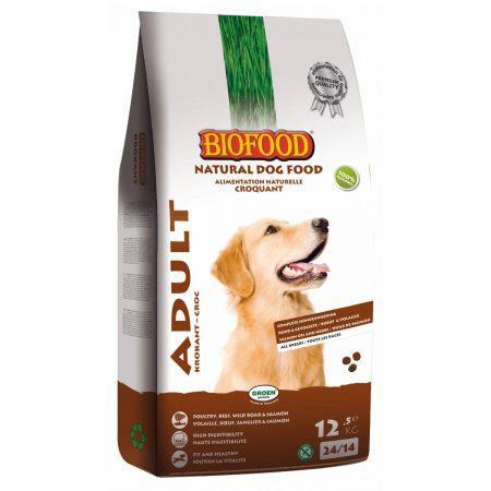 Hondenvoer Biofood Adult Krokant 12,5 kg