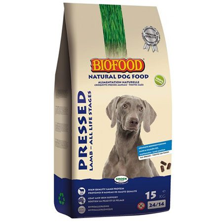 Hondenvoer Biofood geperst lam 13,5 kg