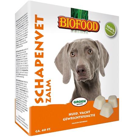 Biofood schapenvet zalm bonbons
