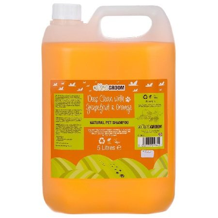 Nature's Groom Grapefruit & Orange shampoo 5L