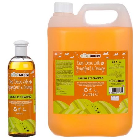Nature's Groom Grapefruit & Orange shampoo