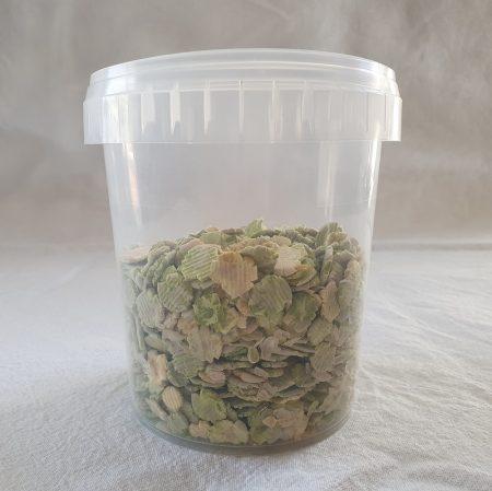 Gedroogde erwtenvlokken 250 gram