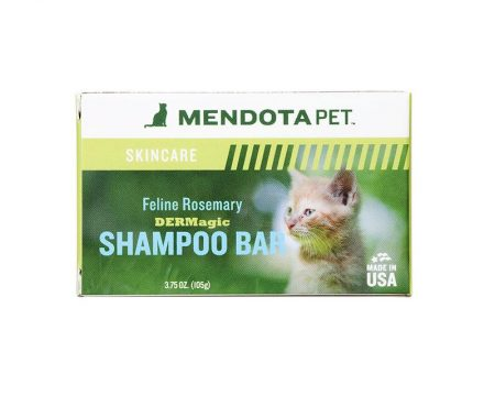 DERMagic Feline rosemary shampoo bar