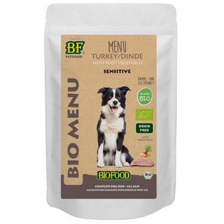 Bio Kalkoen Menu Hond 150 gram