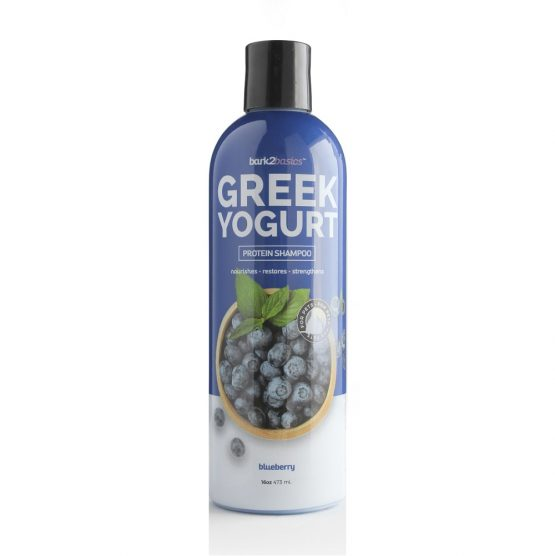 Bark 2 Basics Greek Yogurt Blue Berry shampoo